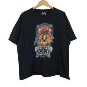 Vintage Samus Aran Black Sweatshirt / 2XL